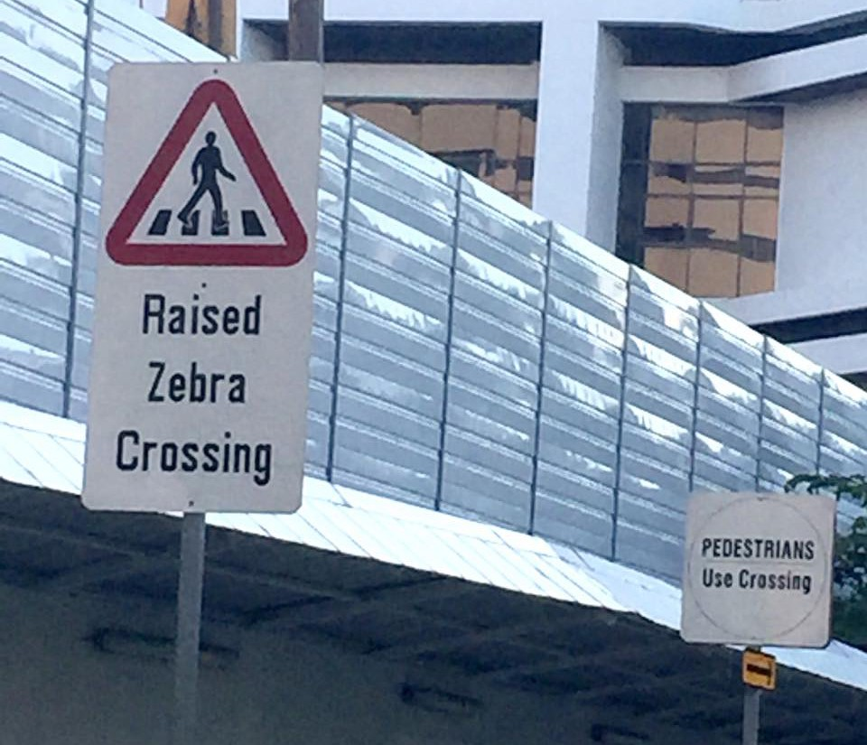 Raised Zebra Crossing editing