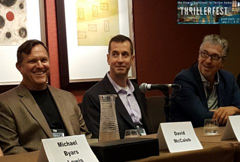 Author David McCaleb at Thrillerfest 2016