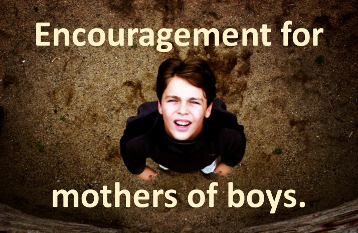Encouragement for mothers of boys